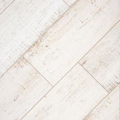 Windsor White Wood Plank Porcelain Tile - 12in. x 36in. - 100344225 | Floor and Decor