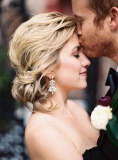 Gorgeous updo: http://www.stylemepretty.com/2015/05/20/charming-southern-wedding-elegance-in-charleston/ | Photography: Ashley Cox - http://ashleypcox.com/