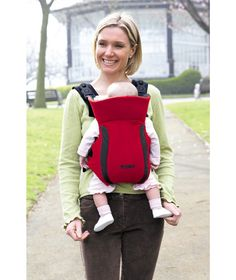 Buy Tomy Freestyle Premier Baby Carrier - Red and Black