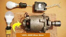 Making a Powerful Generator From a Blender Motor DIY: 3 Steps (with Pictures)