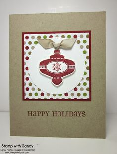 Stamp With Sandy: Season of Style Trio of Cards
