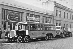 1930's Fageol eight-wheelers in San Francisco
