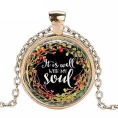 It is Well With My Soul Christian Women's Necklace - 4 Colors