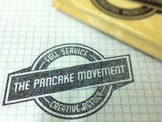 // pancake movement love vintage logos