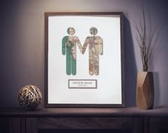 Take My Hand Girl & Girl / Gay Lesbian Marriage by Paperture