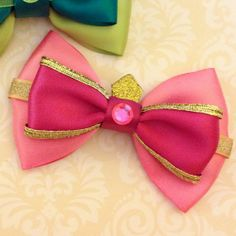 Anastasia Tremaine Cinderella Inspired Bow by SmallWorldBows, $9.00