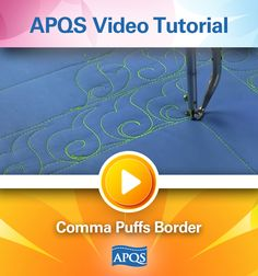 In this video tutorial APQS National Education Director Dawn Cavanaugh teaches us how to quickly add the binding to your longarm quilting project while it is still on the frame.