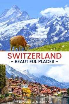 Best Of Switzerland, Switzerland Cities, European Road Trip, European City Breaks, Swiss Travel, Travel Destinations, Travel Tips, Time Travel, Train Journey