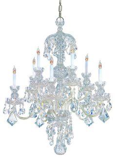 042a2e96fb1f Swarovski-Strass-Crystal-Chandelier 5 Light Chandelier