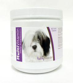 Multi-Vitamin Soft Chews for Dogs 60 Count - Healthy Breeds Multi-Vitamin Soft…