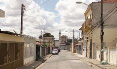 Vila Santa Isabel, vista da Rua Firmino Braga (2015) Foto: Rogério de Moura