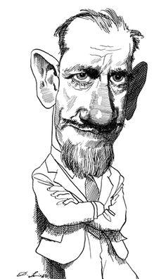 John Steinbeck, David Levine