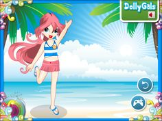 Online winx club dress up games