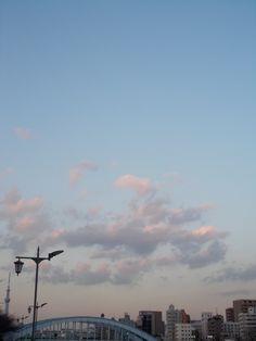 sky in evening