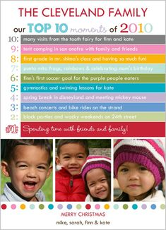 christmas card ideas!