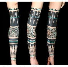 Love this elbow design~only color in my sleeve will be in this area (similar blue color only darker/more subtle)
