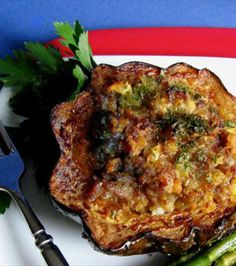 Sausage and Apple Stuffed Acorn Squash. Substitute turkey sausage if you do not eat pork
