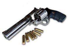 Colt Anaconda 44 Magnum - Perfect size round for close quarter zombie battles. Love it.