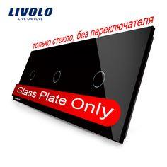$8.57 (Buy here: https://alitems.com/g/1e8d114494ebda23ff8b16525dc3e8/?i=5&ulp=https%3A%2F%2Fwww.aliexpress.com%2Fitem%2FFree-Shipping-Livolo-Luxury-Black-Crystal-Glass-222mm-80mm-EU-standard-Triple-Glass-Panel-VL-C703%2F1698047049.html ) Livolo Luxury Black Crystal Glass,223mm*80mm, EU standard glass only, Triple Glass Panel,VL-C7-C1/C1/C1-12 for just $8.57