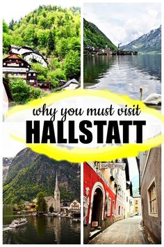 10 reasons to visit Hallstatt, the most famous village in Austria Road Trip Europe, Europe Travel Guide, Travel Guides, Travel Destinations, Travel Plan, Travel Goals, Travel Advice, Budget Travel, European Destination