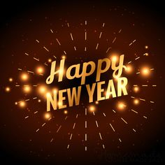 Happy new year images | Happy New Year. (Golden fireworks) Happy New Year Friends, Happy New Year Fireworks, Happy New Year Pictures, Happy New Year Photo, Happy New Year Message, Happy New Year Quotes, Happy New Year Wishes, Happy New Year Greetings, Happy New Year 2019