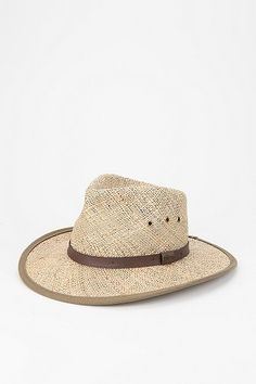 Pendleton Belted Straw Outback Hat
