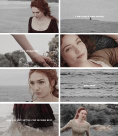 May I tell you something, Demelza? You have one failing and that is that you don't think well enough of yourself. You came here as a miner's daughter and married into this ancient family and you took its standards as your own. So, you mistake your own value. Ross was a wise man when he chose you and he will not forget it.You must do away with the notion that someone has done you a favour by letting you into this family.  — Francis to Demelza, S02E05