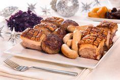 Traditional Norwegian christmas food