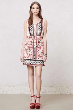 Anthropologie - Kasi #Embroidered Dress #boho