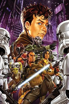 Mark Brooks - Star Wars: Kanan