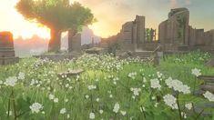 Pastel Wallpaper, Cute Wallpaper Backgrounds, Cute Wallpapers, Landscape Concept, Landscape Art, Legend Of Zelda Breath, Breath Of The Wild, Animal Crossing, Breathe