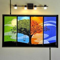 Four Seasons - Delphi Artist Gallery by Jim Vermeer