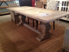 Like this nautural looking table -- Mango Wood -- not sure where this is sold -- this photo orginates from a wallpaper website