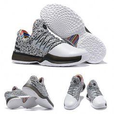 491971963a6a Harden James BHM adidas Harden Vol. 1 Black History Month Wolf Grey Rainbow  Black White Basketball Shoes  basketballshoes