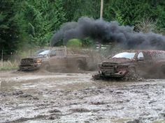 Mudding with lifted dodge truck - - Yahoo Image Search Results