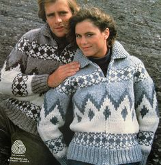Icelandic Sweaters: beautiful, very warm, and available in lots of colors!