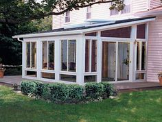Perfect Design Aluminum Green House for Villa - China Sunroom, Aluminum Sunroom Screened Porch Designs, Screened In Patio, Backyard Patio, Porch To Sunroom, Sunroom Windows, Porch Roof, Roof Window, Bay Window, 3 Season Room
