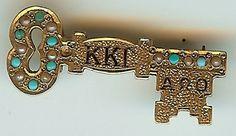 Kappa Kappa Gamma Sorority pin from the 1885 $6000.00