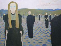 "Saatchi Art Artist Andreea- Mara Mancas; Painting, ""Waiting For The Sun"" #art"