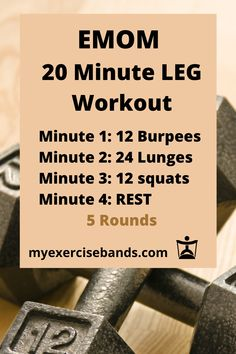 Lower Body Workout to do at Home - Every minute complete the exercise for that minute. For example, minute 1 do 12 burpees, then rest - Amrap Workout, Insanity Workout, Best Cardio Workout, Hiit, Crossfit Workouts At Home, Crossfit Legs, Crossfit Leg Workout, Workout Fitness, I Work Out