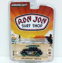 Ron Jon Diecast VW Beetle - Limited Edition #cars #greenlight #collectible #Volkswagen