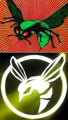 Then: top, Now: bottom ('Green Hornet' Logo)The 'Green Hornet' logo, which is literally a hornet, has gotten its own futuristic makeover. The newly stylized logo glows.Follow our galleries on Twitter @NYDNPhotos.