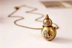 Gaara Necklace watch naruto anime - this is pretty awesome