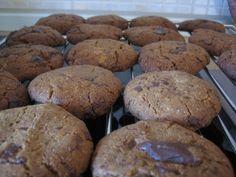 Μπισκότα (cookies) με κομματάκια σοκολάτας (του Ποπάυ)