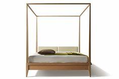 Contemporary double canopy bed VALENTINO  MORELATO