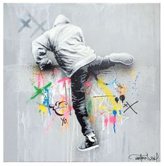 Martin Whatson (b. 1984) is a Norwegian born and based stencil artist. While studying Art and Graphic design at Westerdals School of Communication, Oslo, he discovered stencils and the urban art scene. After following graffiti and its development, he started his own stencil production 10 years ago in the winter of 2004.