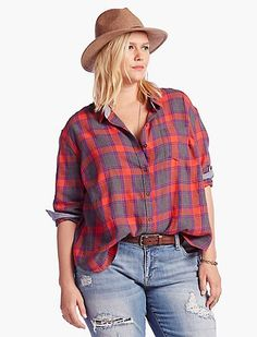 Plus Size Happy Plaid | Lucky Brand