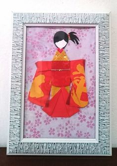 Japanese Origami, Japanese Paper, Japanese Kimono, Cute Bookmarks, Red Packet, Light Crafts, Book Lovers Gifts, Geisha, Paper Dolls