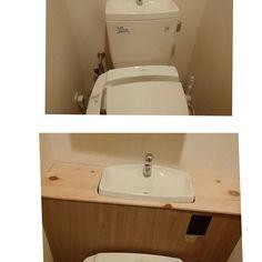 トイレ空間をオシャレに♡トイレのタンクを隠すDIYが流行ってるよ! | CRASIA(クラシア)