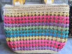 Hey, I found this really awesome Etsy listing at http://www.etsy.com/listing/158541574/summertime-woven-purse-beach-bag